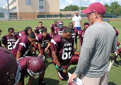 Dickinson - Harrison Varsity Football Scrimmage (Tozzophoto) Tags: sports football highschool dickinson harrison hudsoncounty newjersey unitedstatesofamerica