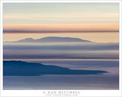 Mono Basin, Wildfire Smoke, Dawn (G Dan Mitchell) Tags: wildfire fire mono basin lake paoha island mountains smoke layers drift dawn morning sunrise nature landscape