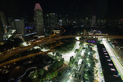 Marina Bay Street Circuit (Kam2y) Tags: singapore singaporegp eos7dmarkii singaporeflyer marinabaystreetcircuit 1020mmf35exdchsm