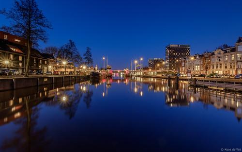 Groningen Oosterhaven @ blue hour