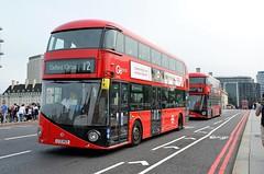 LT423 & LT290 (stavioni) Tags: lt london transport nb4l rotemaster new bus red double decker tfl wright wrightbus hybrid lt423 lt290 ltz1423 ltz1290 abellio go ahead central