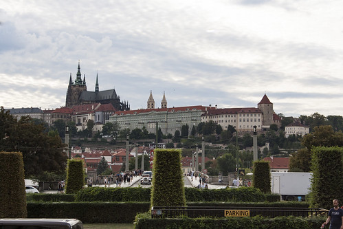 Prague castle by day