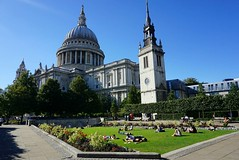 I'm really missing the sun this morning!  (venesha83) Tags: stpaulscathedral stpauls summerdays summer london cathedral church centrallondon uk greatbritain