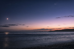 Moonlit (Explored 09/09/16) (Andy2305) Tags: newgale wales pembrokeshire beach moonlight longexposure water seascape coast sky explored