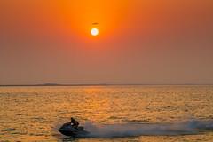 Mamzar, Sharjah (nishikant_kumar) Tags: sharjah dubai mamzar beach jet ski evening sunset outdoor