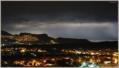 Rayos de la Marina Alta (lagunadani) Tags: paisaje nocturno benidorm altea tormenta relampago lightning storm luces lights sonya7