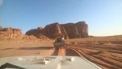 IMG_1879 (sheepman) Tags: wadirum jeep sunset