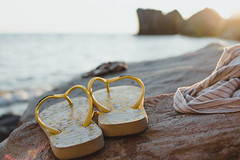 You will be missed... (neus_oliver) Tags: summer goodbye farewell hawaianas flipflops beach sunset dusk stones landscape sun sunflare sea ocean italy cetraro cosenza mediterranean yellow 2016 last day missing
