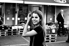 Girl (Peter Steinmetz) Tags: petersteinmetz copenhagen streetphotography woman girl beautiful smoking