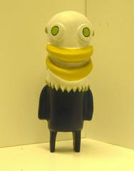 Bald eagle (Chomp-Stomp) Tags: usa bird monster toy acrylic geek handmade critter baldeagle wip sculpey etsy arttoy