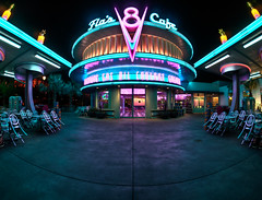 "Flo's Cafe - Cars Land • <a style=""font-size:0.8em;"" href=""http://www.flickr.com/photos/85864407@N08/8156231957/"" target=""_blank"">View on Flickr</a>"