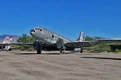 C-117D Skytrain BuNo 50808 (skyhawkpc) Tags: arizona outside tucson aviation az douglas skytrain allrightsreserved usaaf pimaairspacemuseum 50808 c117d r4d8 garyverver boneyardproject 4349427