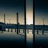 In between lines... (Explored 7/11/2012 #74) (sebistaen) Tags: man walking flickr line