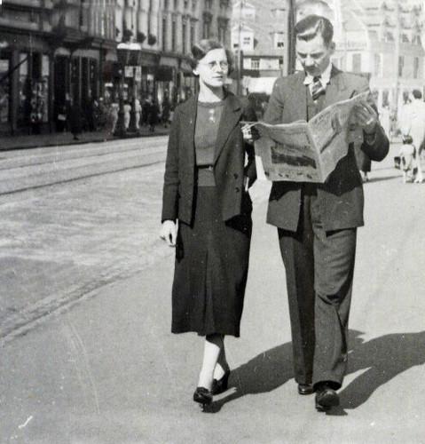 Cathie and Bert Murray, 1940s