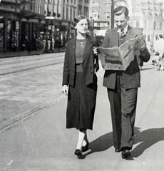 Image titled Cathie and Bert Murray, 1940s