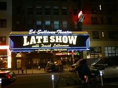 NYC_Late_Show_night (el_visigodo) Tags: nyc usa newyork broadway lateshow 2012 davidletterman elvisigodo sonyericssonxperianeov edsulivantheater