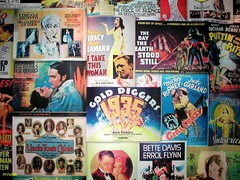 Old Movie Posters.- From The Tonic Cinema in Bangor County Down, Northern Ireland. Pic 2 (mrvisk) Tags: actor actress love romance dance comedy ufo drama irish women men history old deceit danger classic happyness girl crazy legends mrvisk ulster glitter colour memories smoking usa cinema pictures ritz glitz 1935 guns sorrow gangsters crime fraud sinister hate grey hair ginger red blonde head woman man sex fun monsters scary gold diggers smoke death white blue family spencer tracy style co art facade celebrities pic judy garland mature molls groupshot pride