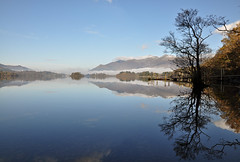 DSC_0175-2 Derwentwater (wilkie,j ( says NO to badger cull :() Tags: autumn trees mist snow mountains water reflections landscape countryside scenery day jetty lakes lakedistrict scenic cumbria mornings derwentwater keswick skiddaw ashness scenicwater sceniclandscape lakeswater