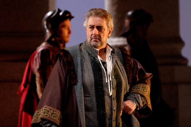 "Plácido Domingo in Simon Boccanegra in Simon Boccanegra.  Photo by Catherine Ashmore  <a href=""http://www.roh.org.uk"" rel=""nofollow"">www.roh.org.uk</a>"