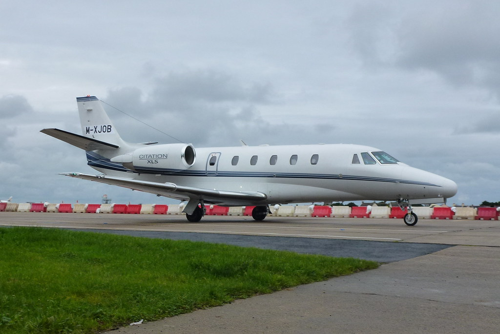 M-XJOB (ex M-SNAP Cessna 560XL Citation XLS)