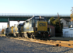 CSX 2769 Light Power (Photo Squirrel) Tags: railroad train switch evening md diesel fallcolors engine maryland trains brunswick locomotive headlight signal engineer freight brightfuture csx freighttrain brunswickmd eot emd gp382 frederickcounty railroadsignal csxt diesellocomotive gp402 electriclocomotive lightengine brunswickstation darkfuture metropolitansubdivision lightpower csxdarkfuture frederickcountymaryland frederickcountymd lightengines freightlocomotive emdlocomotive brunswickmaryland brunswickyard brunswickrailyard brusnwickmd brunswickrailroadyard csxmetropolitansubdivision brunswickmarcstation brunswickmarcplatform brunswickrailroadstation csxtfreighttrain csxbrightfuture csx2769 csx2738 csx6393