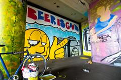 Broke (TheHarshTruthOfTheCameraEye) Tags: show art graffiti berkeley special delivery thugs broke punks ptv vandals specialdelivery berkeleygraffiti punksthugsandvandals specialdeliveryartshow