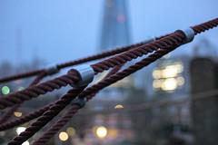 20.365 (frankie091) Tags: abstract blur london field playground canon rebel cool bokeh object depthoffield ropes shard depth flickruploadr t3i 600d objectblur canon600d rebelt3i