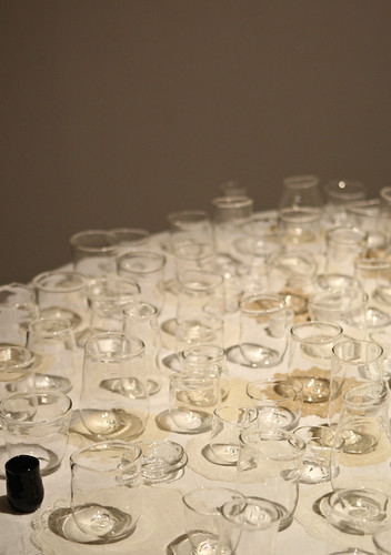 Handblown Pyrex Cups by Justin Parr