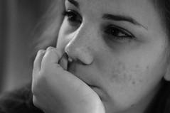 [lA piU' o mEno fotogrAfAtA] AUgUri (Urca) Tags: portrait blackandwhite bw italia milano bn ritratto biancoenero 2012 aidoru nikondigitalefilippetta