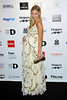 Zoe Hobbs at the Drapers Fashion Awards at Grosvenor House. London