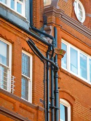 P1010080 Victorian Downpipes (londonconstant) Tags: victorianarchitecture cadogangardens londonsw1 cadoganestate londonconstant costilondra promenadesstreetscapes