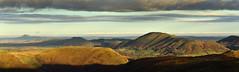 Stretton Hills panorama (Danny Beath) Tags: shropshire hills caradoc aonb wrekin caer strettion