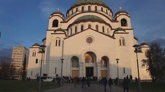 Sad but Beautiful Music Coming from St. Sava Cathedral, Belgrade (KelSquire.GlobeCaptures) Tags: cathedral serbia belgrade orthodox sava saintsava stsava stsavacathedral