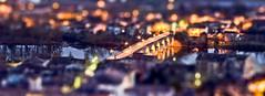 Le Pont Napolon (Jourdenuit) Tags: night pont nuit napolon tiltshift midipyrenees moissac poselongue heurebleue jourdenuit floriancalas