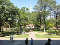 Harvard Yard, Tercentenary Theater (quiggyt4) Tags: cambridge church boston architecture campus university library massachusetts harvard charlesriver harvardsquare mbta harvardyard harvarduniversity boathouse facebook ivyleague dorms bostonist ronpaul widenerlibrary harvardlaw ows occupy zuckerberg thesocialnetwork occupywallstreet