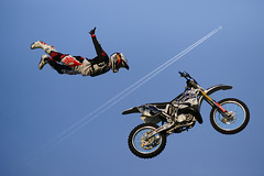 #850E1792# - Catching the jet (crimsonbelt) Tags: people sports jump freestyle stream dubai sony jet motor za byke sal135f18za sonnart18135 zeisscontest2012