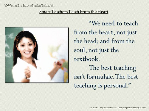 "PowerPoint Slide:  ""The best teaching is by Ken Whytock, on Flickr"
