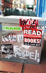 (amolho4) Tags: nyc streetart graffiti reader read readmore booker readup readbooks