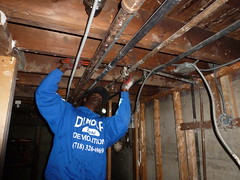 Queens NY hurricane flood damage restoration (The Trash it Man) Tags: hurricane cleanup howardbeach hurricanecleanup flooddamagecleanup hurricanesandy sandyaftermath hurricaneflooddamage