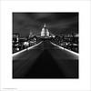 St. Paul's Cathedral, London (Ian Bramham) Tags: bridge white black london night photo bridges milleniumbridge stpaulscathedral ianbramham