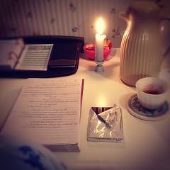 على بابك يا كريم..❤ (Seema =)) Tags: coffee night square candle chocolate study squareformat studying شمعة قهوة ليل دراسة مذاكرة شوكولاتة قهوةعربية iphoneography instagramapp xproii uploaded:by=instagram