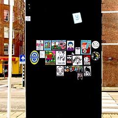 Update (Akbar Sim) Tags: streetart holland netherlands sticker stickerart nederland denhaag thehague combo straatkunst streetstickers plakart akbarsimonse akbarsim