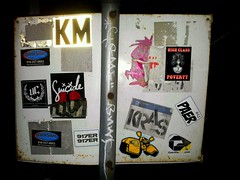 "14bolt and High Class Poverty getting up (""14BOLT"") Tags: poverty high sticker stickers vinyl class 14bolt fadedj flickrandroidapp:filter=berlin"