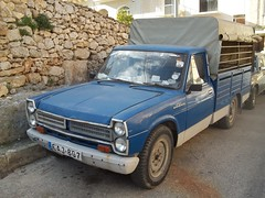 Nissan Junior (occama) Tags: old blue classic truck vintage nissan utility pickup malta ute junior 1960s 1970s blueu