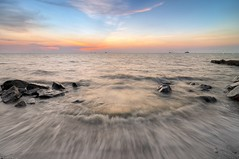 Sea Portal (Arief Rasa) Tags: ocean sunset sea beach sunrise wave bora hdr jeram kualaselangor ombak ariefrasa