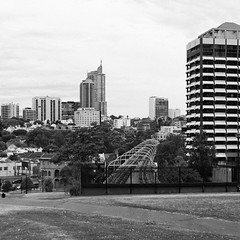 woolloomooloo and potts point from the domain {explored #500 - dropped} (Seakayem) Tags: blackandwhite bw noir minolta sony 28mm sydney woolloomooloo kingscross f28 squarecrop slt pottspoint maxxum a55 eastsydney thedomain