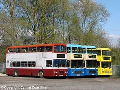 Leyland Lament (2) (Cymru Coastliner) Tags: ghacoaches leylandolympian alexander northerncounties k129dao 1810vt 4051vt k656unh h105gev h115gev bus tarvin cheshire depot