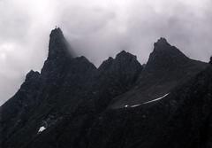 A Bit Angry (Elliott Bignell) Tags: mist mountain mountains alps berg clouds schweiz switzerland nebel suisse wolken ostschweiz berge kreuz alpine alpen peaks svizzera rheintal alp mels wanderung rhinevalley gipfelkreuz gams gipfel sargans corss pizol 5lakes 5seen