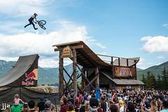 Joyride Thomas Genon (Jeremy J Saunders) Tags: crankworx whistler bike park slopestyle thomas genon mtb mountain red bull joyride jeremyjsaunders jjs d800 nikon extreme sport