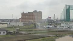 Into Hineno (seikinsou) Tags: japan spring osaka kix kansai airport haruka jr train shinosaka hineno kankuhinenostationhotel golf cage pond walk video